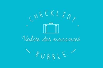 Valises : la checklist pour ne rien oublier !
