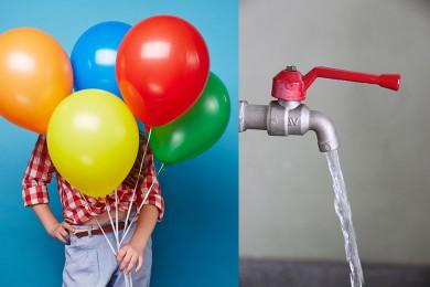 Ballon + eau = 6 jeux pour se bidonner !