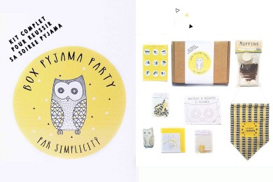 Box « Pyjama Party »