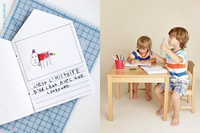 Un livre fait par les enfants