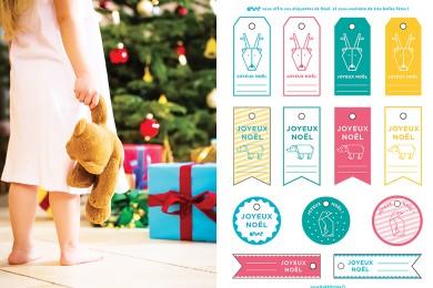 Étiquettes de Noël sur mesure