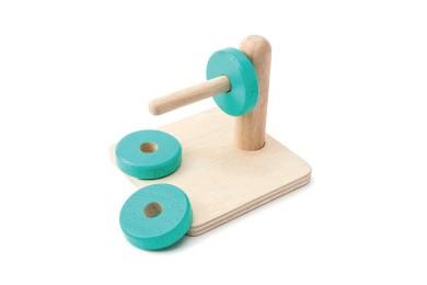 Jeux d'encastrement façon Montessori