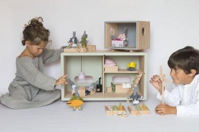 Maison de poupée écolo