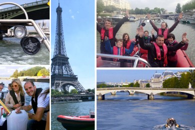 Sillonner la Seine en Zodiac
